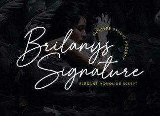 Brilanys Signature Font