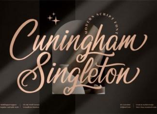 Cuningham Singleton Font