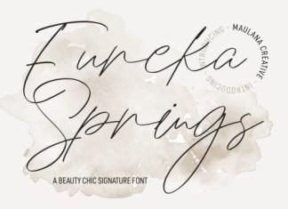 Eureka Spring Font