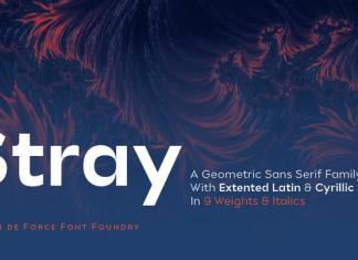 Stray Font