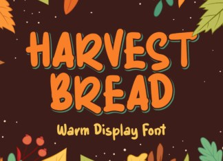 Harvest Bread Font