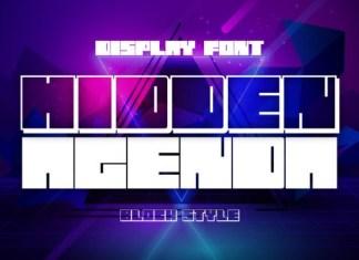 Hidden Agenda Font