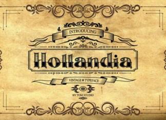 Hollandia Font
