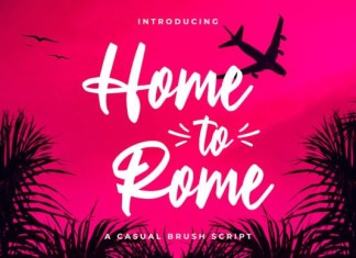 Home to Rome Font