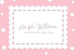 Hugh Pillow Font