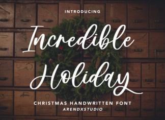 Incredible Holiday Font
