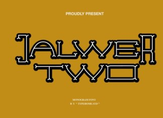Jalwer Two Font