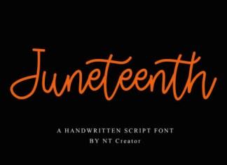 Juneteenth Font