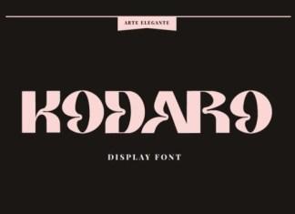 Kodaro Font