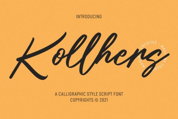 Kollhers Font
