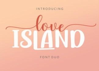 Love Island Duo Font