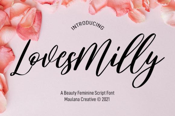 Lovesmilly Font