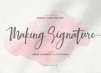 Making Signature