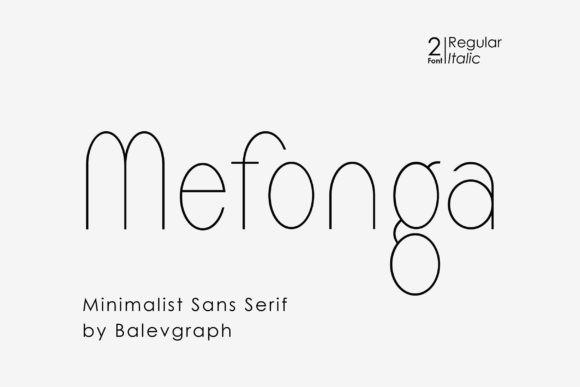 Mefonga Font