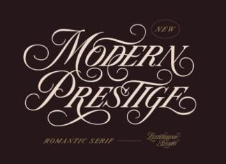 Modern Prestige Font