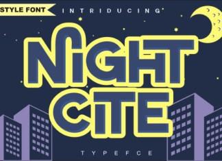 Night Cite Font