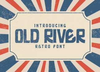 Old River Font