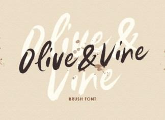 Olive & Vine Font
