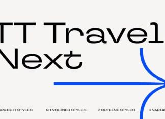 TT Travels Next Font