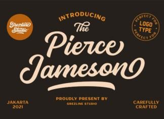 Pierce Jameson Font