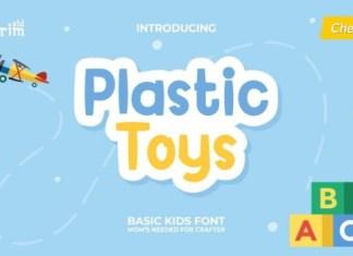 Plastic Toys Font
