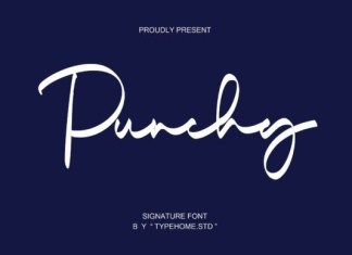 Punchy Font