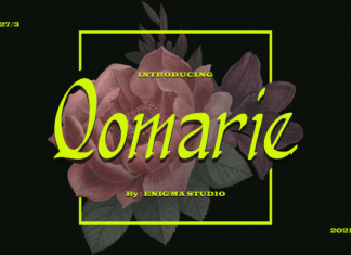 Qomarie Font