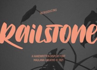 Railstone Font
