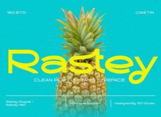 Rastey Font