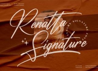 Renatta Signature Font