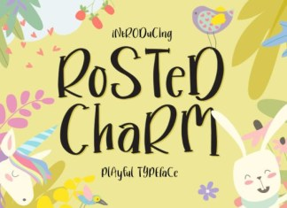 Rosted Charm Font