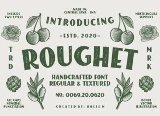 ROUGHET Font