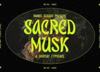 Sacred Musk Font