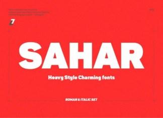 Sahar Font
