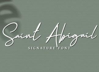 Saint Abigail Font