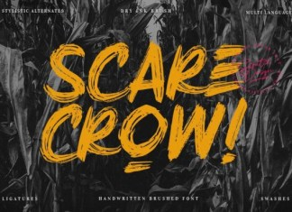 Scarecrow Font
