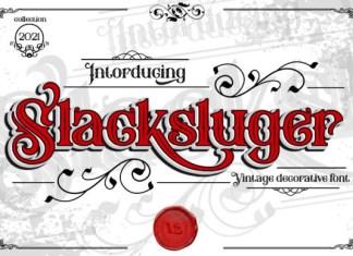 Slacksluger Font