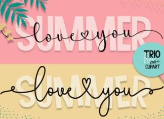 Summer Love You Font