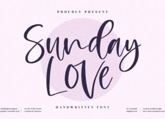 Sunday Love Font