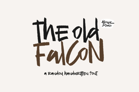 The Old Falcons Font