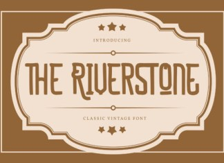 The Riverstone Font