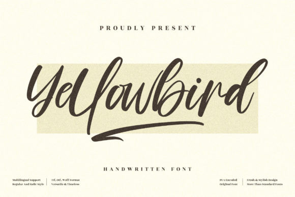 Yellowbird Font