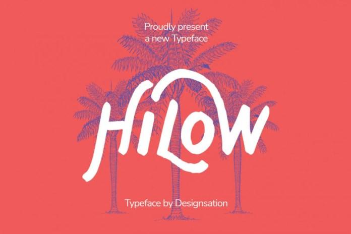 Hilow Font