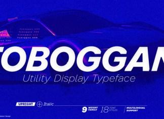 Toboggan Font