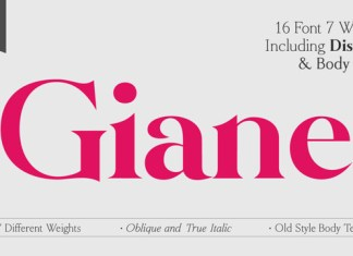 Giane Font