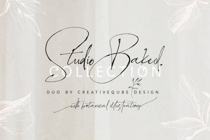 Studio Baked Font