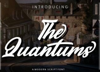 The Quantums Font