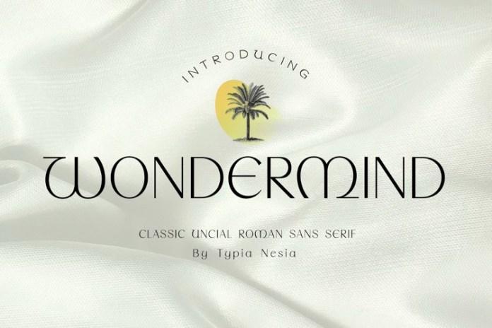 Wondermind Font