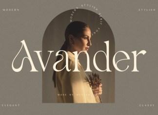 Avander Font