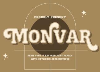 Monvar Font